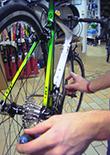 webbshop cykel service