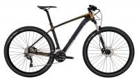Crescent mtb cykel med carbon ram och luftgaffel